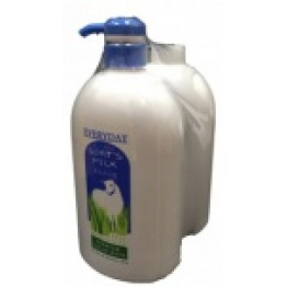 Everday goat's Milk Shower Foam Twin Pack x 1l