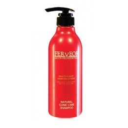Ferveor Natural clinic care Shampoo 500ml (R)