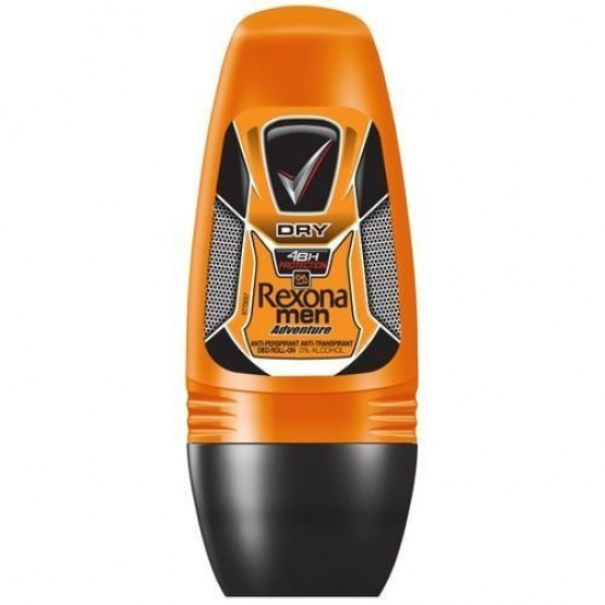 Rexona Men Deo Roll On Adventure 4x6x40ml