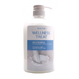 Beautain Wellness Treat Bath and Shower Gel 850ml - Whitening