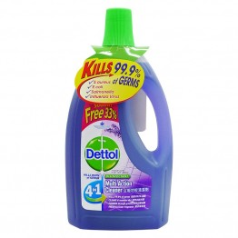 Dettol Multi Action Cleanser 4In1 Lavender 2l