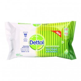 Dettol Anti-Septic Wet Wipes 10's