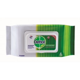 Dettol Anti-Septic Wet Wipes 50's
