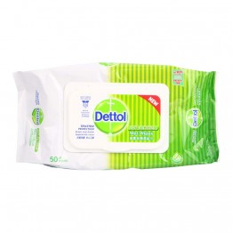 Dettol Anti-baterial Wet Wipes 50's