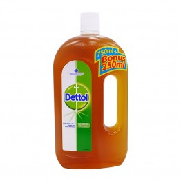 Dettol Anti-septic Liquid 750ml+250ml