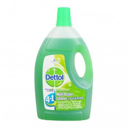 Dettol Multi Action Cleaner 4IN1 Green Apple 2.5l