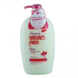 Follow Me Nature's Path Flora Shower Foam 1000ml