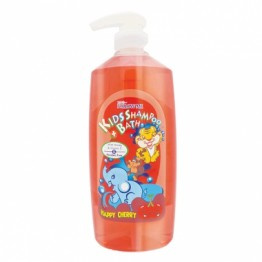 Follow Me Kids Shampoo + Bath Happy Cherry 800ml