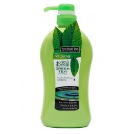 Follow Me Green Tea Grey Control Shampoo - Shou Wu 750ml