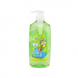 Follow Me 2 in 1 Kids Shampoo & Bath - Honey, Natural Moisturizer & Vitamin E 800ml