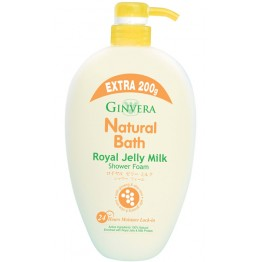 Ginvera Natural Bath Royal Jelly Milk Shower Foam 1000g