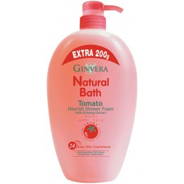 Ginvera Natural Bath Tomato Nourish Shower Foam 1000g