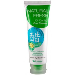 Ginvera Natural Fresh Oil Control Cool Clenaser 100g
