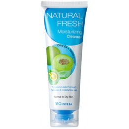 Ginvera Natural Fresh Moistursing Cleanser  100g