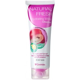 Ginvera Natural Fresh Hydrating White Cleanser 100g