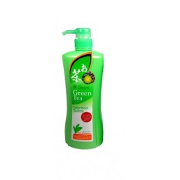 Ginvera Green Tea Pomelo Ginseng Shampoo (orange)- Dry 750g