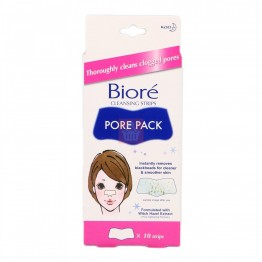 Kao Biore Cleansing Strips Pore Pack 10's