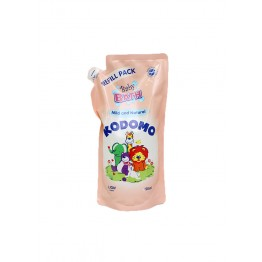 Lion Kodomo Baby Bath 650ml Refill (Mild & Natural)