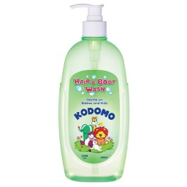 Lion Kodomo Hair & Body Wash 400ml