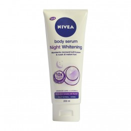 Nivea Body Serum Night Whitening 200ml