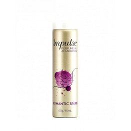 Rexona Impulse Perfume In An Aerosol Romatic Spark 75ml