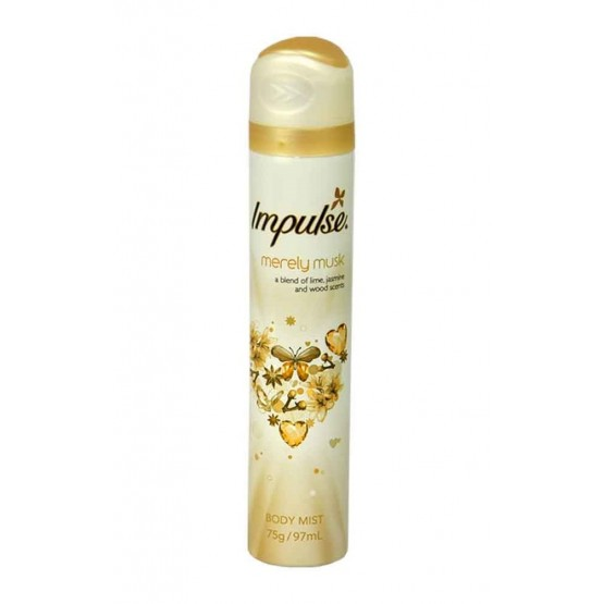 Rexona Impulse Merely Musk Body Mist 12x6x75g