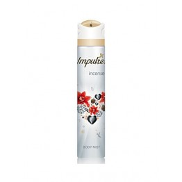 Rexona Impulse Incense Body Mist 12x6x75g
