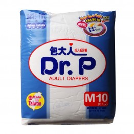 Dr.P Adult Diapers M 10'S