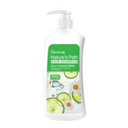 Follow Me Nature's Path Shampoo- Daily Clean & Fresh 900ml