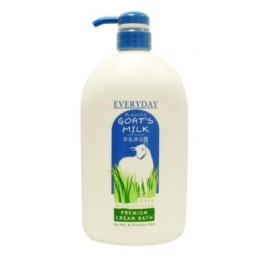 Everyday Goat's Milk Cream Bath 1000ml