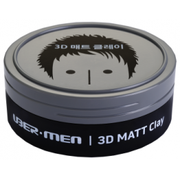Ubermen 3D Matt Clay 70g