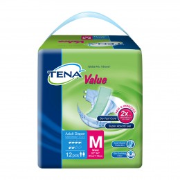 Tena Value Adult Diapers  M12s