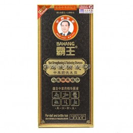Ba Wang Hair Strengthening & Darkening Shampoo with Chinese Herbal Extracts 400ml