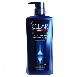 Clear Men Shampoo Cool Sport Menthol Anti Dandruff 700ml