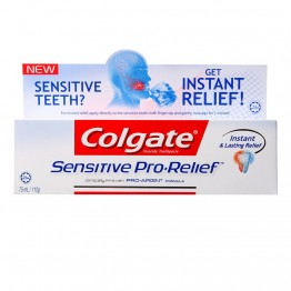 Colgate Fluoride Toothpaste Sensitive Pro Relief 110g