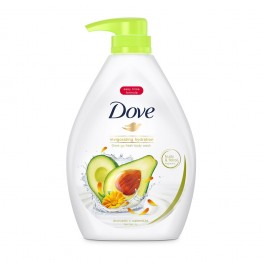 Dove Go Fresh Avocado Scent Shower Gel 1L