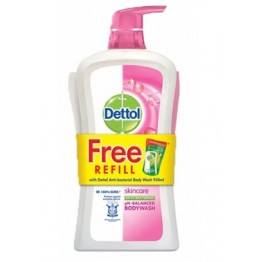 Dettol Shower Gel Skincare 950ml+250ml Refill