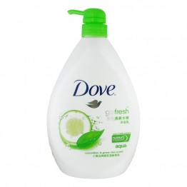 Dove Go Fresh Aqua Cucumber & Green Tea Scent Shower 1000ml