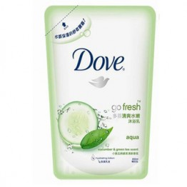 Dove Go Fresh Aqua Cucumber & Green Tea Scent (Refill) 650ml (I)