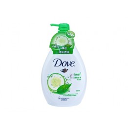 Dove Go Fresh AQUA Cucumber & Green Tea Scent Shower Gel 12X1l