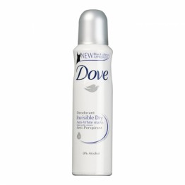 Dove Deodorant Spray - Invisible Dry Anti-White Marks 150ml