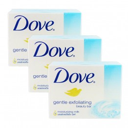 Dove Gentle Exfoliating Beauty Bar (R)16X3X100g