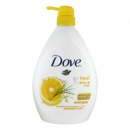 Dove Go Fresh Energize Grapefruit & Lemongrass Scent 12X1l