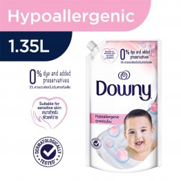 Downy Hypoallergenic Concentrate Fabric Conditioner - Refill Pack 1.35L