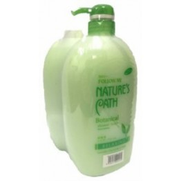Follow Me Botanical Showerfoam Refill 1L+1L Twin Pack