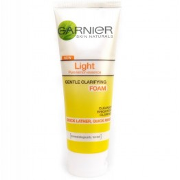 Gariner Light Complete White Speed Multi-Action Brightening Foam 100ml