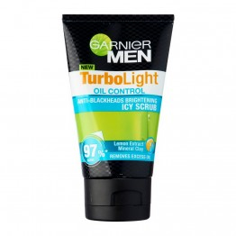Garnier Men Oil Control Icy Scrub 100ml