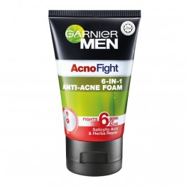 Garnier Men Acno Fight 6 in 1 anti-acne Foam 100ml