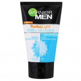 Garnier Men Duo Foam Tubro Light White + Oil Control 100ml