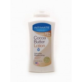 Intimate Cocoa Butter Lotion Intensive Moisturizing 590ml
